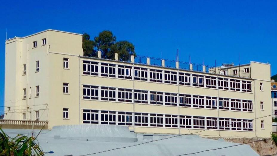 Uno de los centros escolares del Peñón
