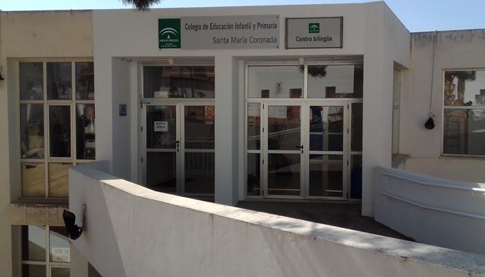Uno de los centros educativos de la comarca