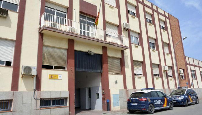 Imagen de la Comisaría del CNP en La Línea