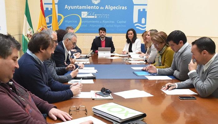 El Ayuntamiento de Algeciras modifica el reglamento de la Mesa del Comercio