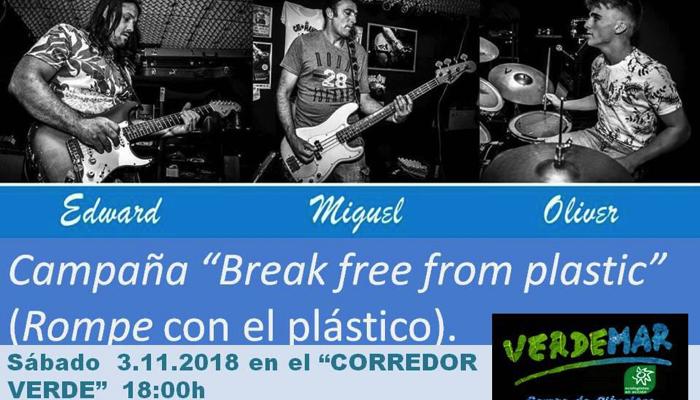 Imagen del cartel anunciador del concierto organizado por Verdemar