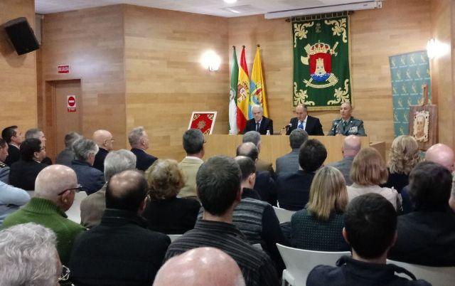 Imagen de la conferencia del coronel Núñez el pasado mes de marzo