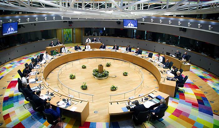 Sesión del Consejo Europeo