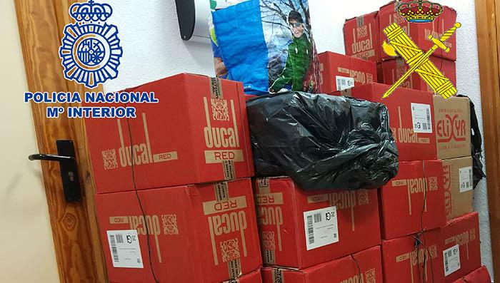 Contrabando de tabaco interceptado en La Línea