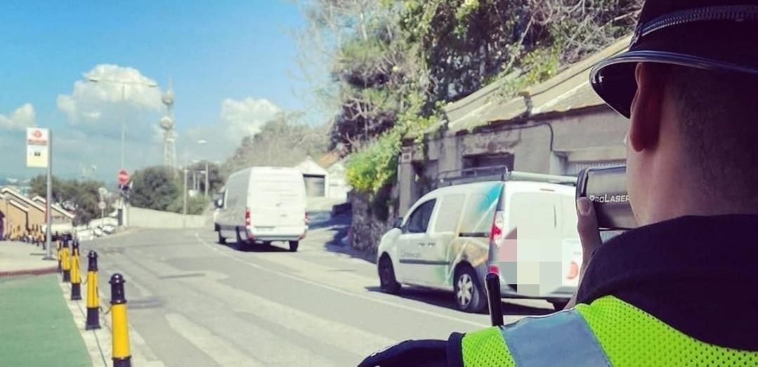 La zona controlada contaba con un importante trasiego de tráfico. Foto RGP