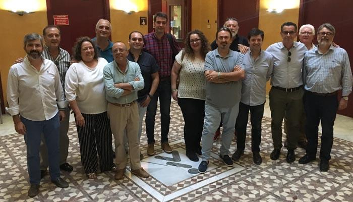 Imagen de archivo de la coordinadora nacional de AxSí.