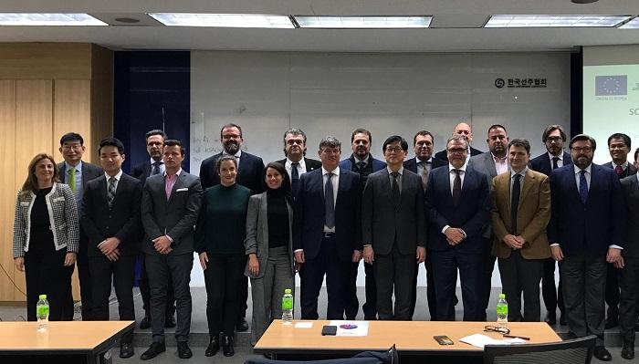 El Puerto de Algeciras cierra el ciclo de misiones comerciales 2019 en Corea del Sur