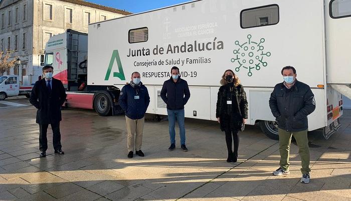 Equipo encargado del cribado llevado a cabo en San Roque. Foto Junta de Andalucía