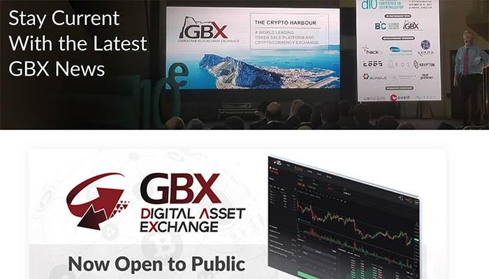 La plataforma de GBX abierta al público