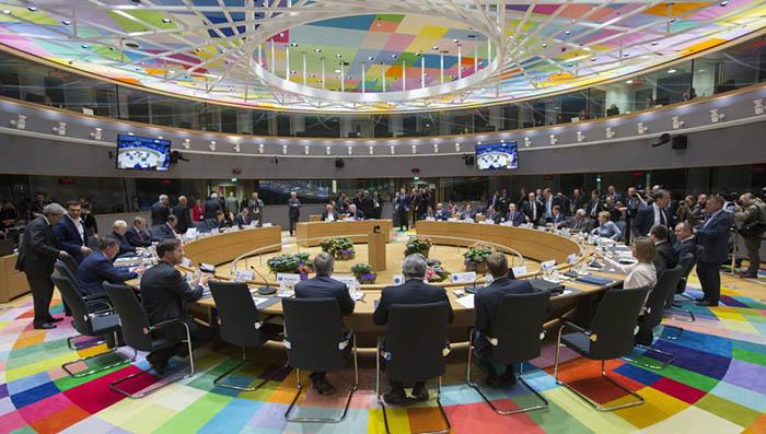 Cumbre extraordinaria del Consejo de Europa que decidió las directrices del Brexit