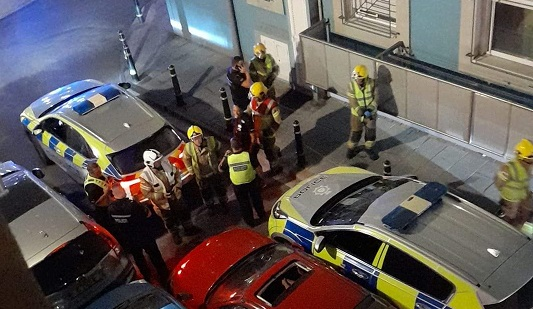Varios coches se vieron implicados. Foto RGP
