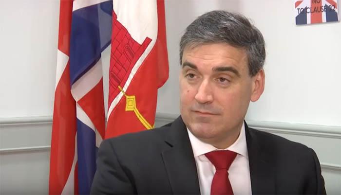 El parlamentario del GSD, Danny Feetham. Foto NG