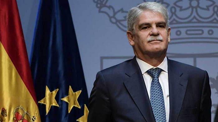 El ministro español Alfonso Dastis