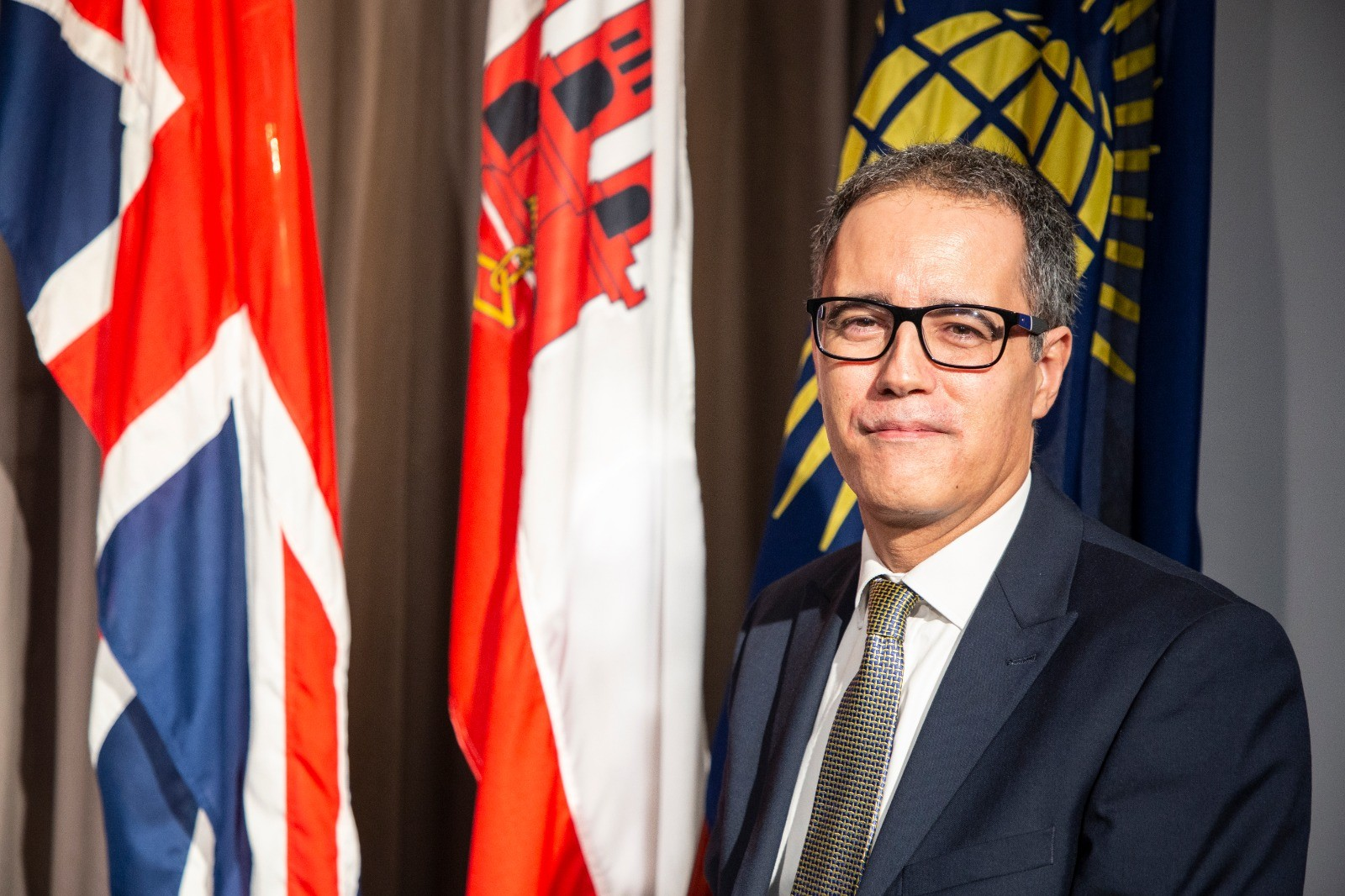 El ministro responsable de las relaciones con la Commonwealth, Joseph García. Foto GG