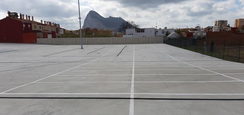 El depósito municipal de Vehículos de La Línea. Foto: lalínea.es