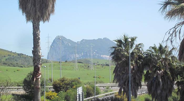 El Peñón, visto desde San Roque. Foto APG