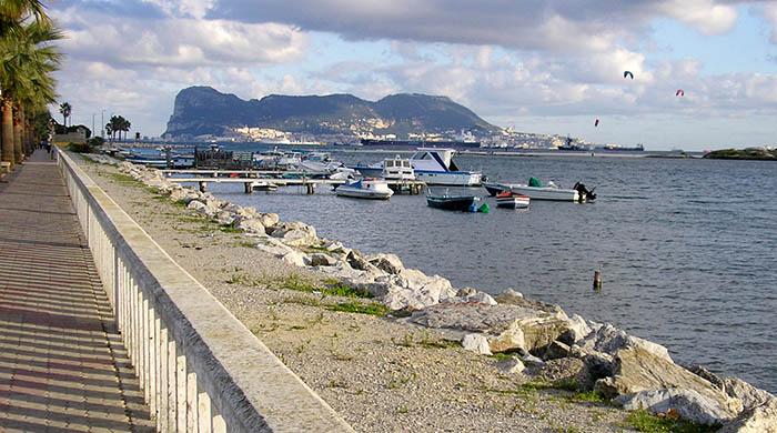 Desembocadura del río Palmones