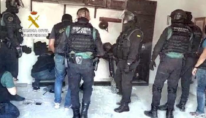"""La """"Operación Hélice"""" se salda con 29 detenidos entre el Campo de Gibraltar y Málaga"""
