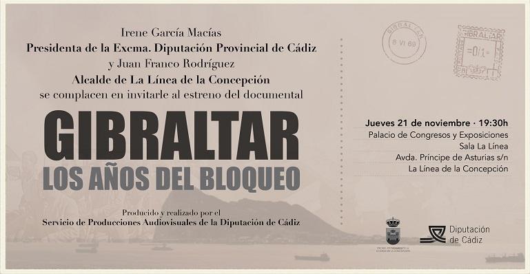 Cartel oficial de la presentación del documental
