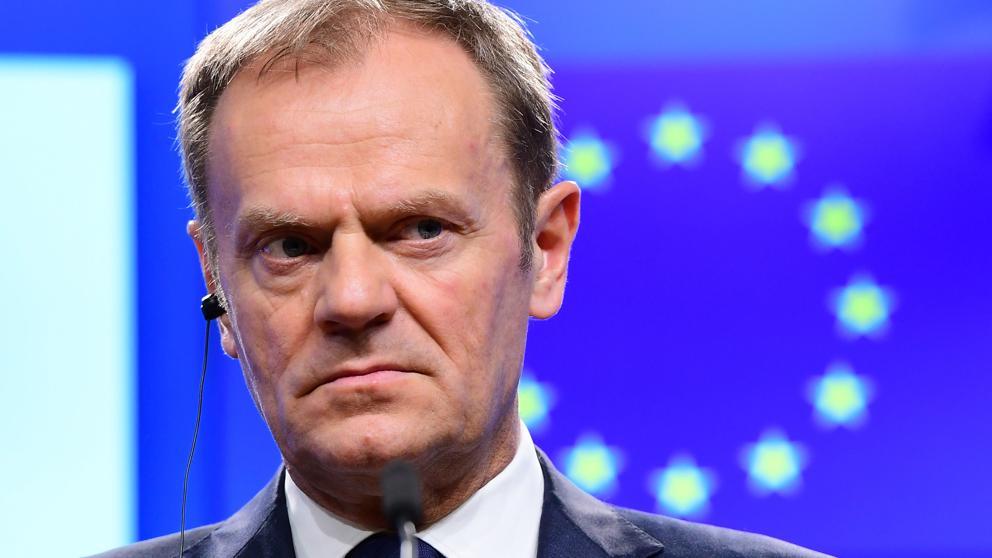 Donald Tusk presidente del Consejo de Europa de la UE