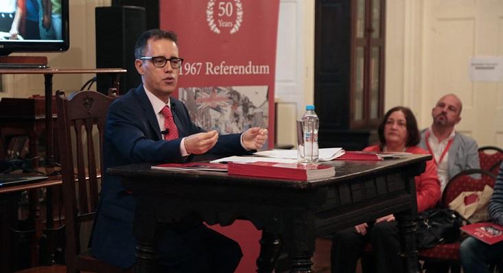 El ministro Joseph García es el presidente del Grupo Estratégico del Brexit