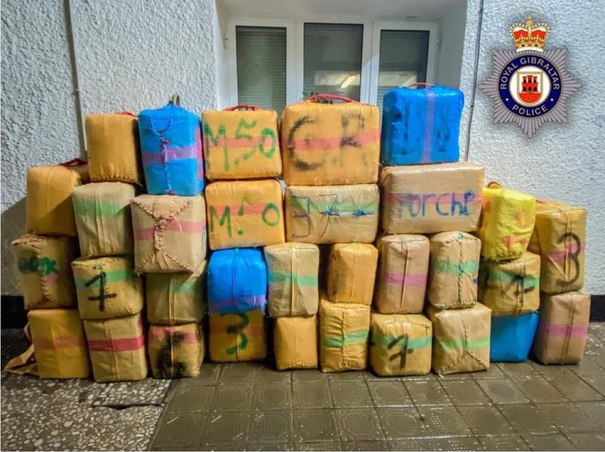 La droga intervenida iba en una embarcación inflable de casco rígido. Foto RGP