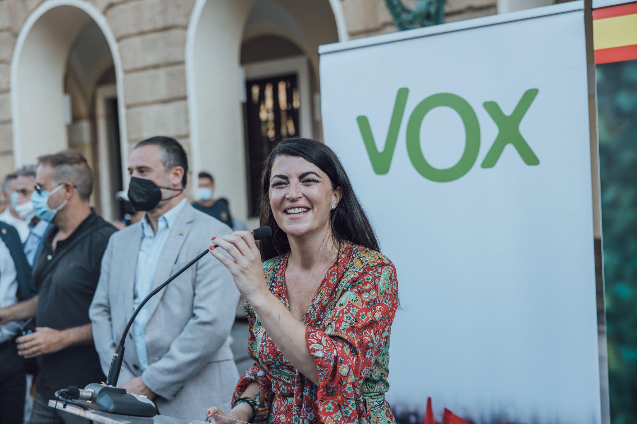 Macarena Olona, secretaria general de Vox en el Congreso. Foto NG