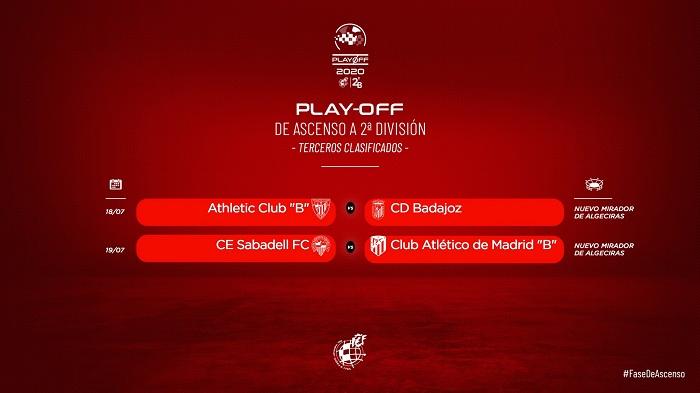 Algeciras acogerá dos partidos entre terceros clasificados el 18 y 19 de julio