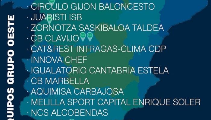 UDEA Algeciras ya tiene rivales en LEB Plata