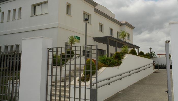 Edificio en el que se ubican los Servicios Sociales del Ayuntamiento de San Roque