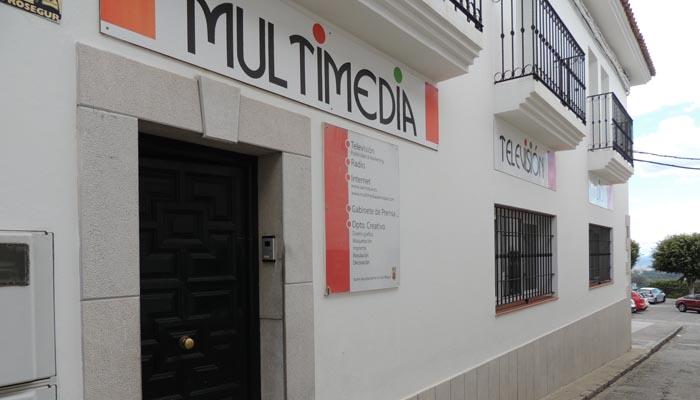 Edificio de Multimedia, donde están los estudios de televisión municipales