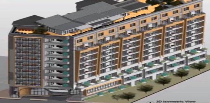 Imagen de los edificios planteados para mayores