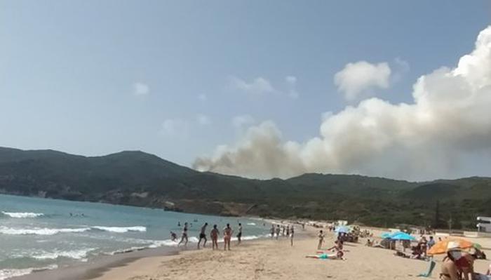 Imagen desde la playa