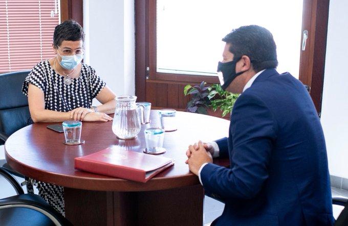 Reunión entre González Laya y Picardo