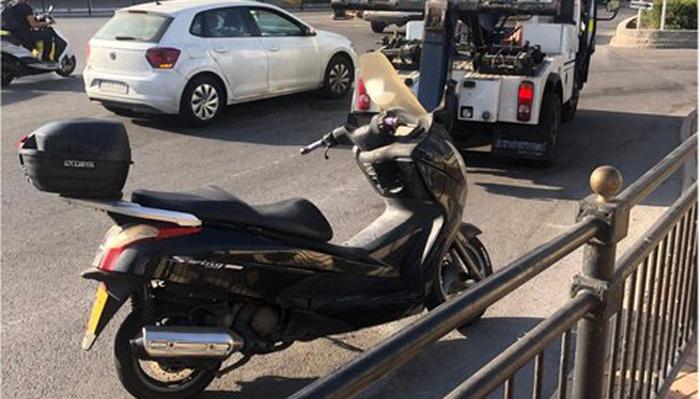 La Royal Gibraltar Police se hizo cargo del vehículo