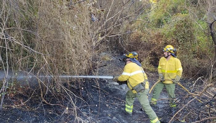El incendio forestal de Algeciras ha arrasado ya casi 200 hectáreas
