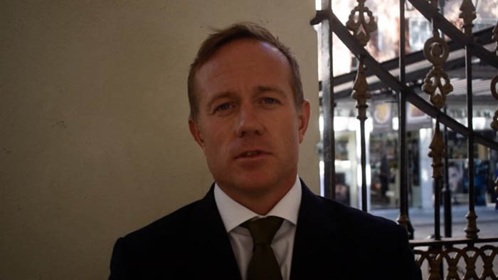 Elliot Phillips, portavoz del GSD