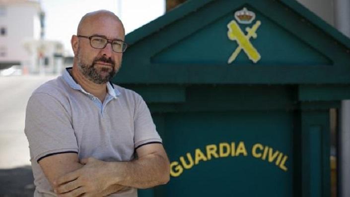 José Encinas, responsable de la AUGC en la provincia de Cádiz