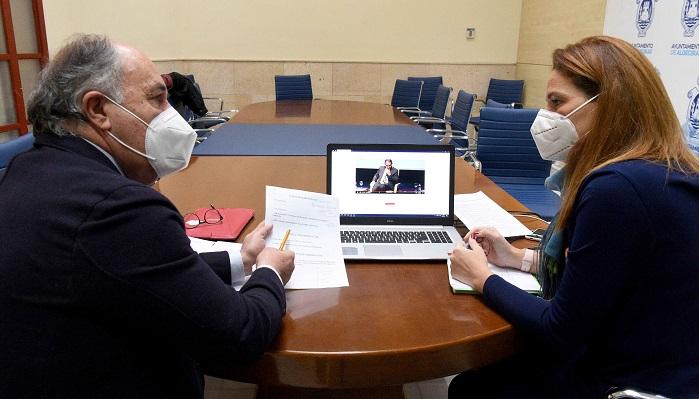 Landaluce asiste a 'Los desayunos informativos' de Europa Press