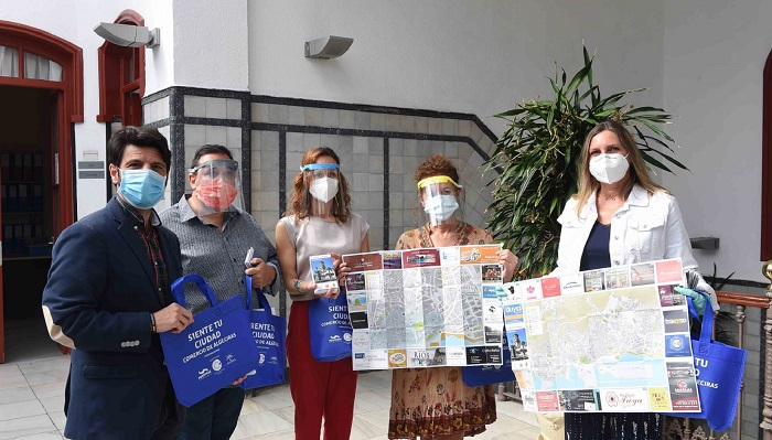 Ayuntamiento y Apymeal lanzan un mapa para dinamizar el comercio