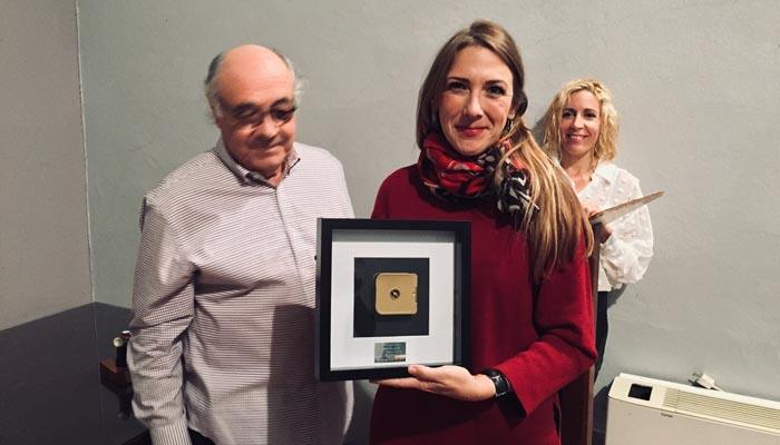 Entrega de premios de la muestra de cine celebrada en San Roque