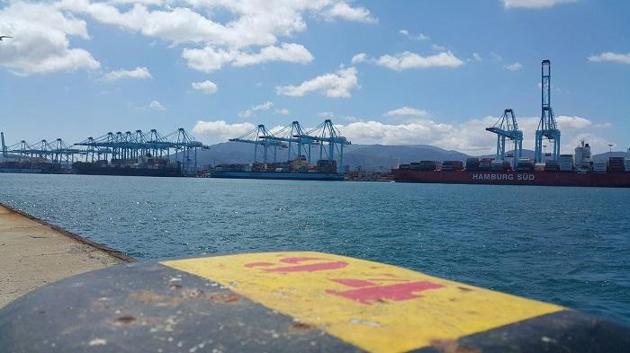 Confirmados dos casos de coronavirus en el buque atracado en Algeciras