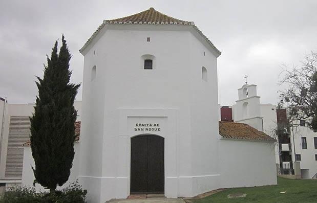 Imagen actual de la ermita dedicada a San Roque. Foto APG