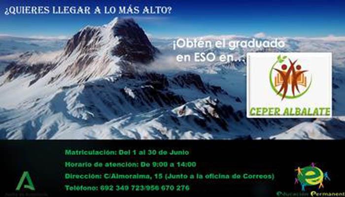 Panel informativo para la formación en ESO