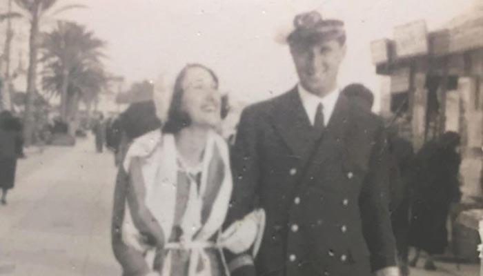 Captura del programa Cuarto Milenio sobre foto de archivo familiar