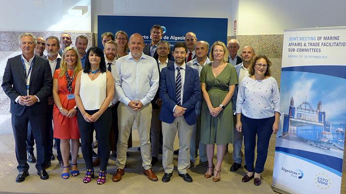 Grupo de trabajo de la ESPO en Algeciras