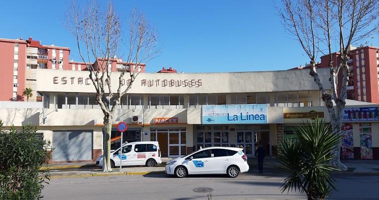 Una imagen reciente de la Estación de Autobuses de La Línea