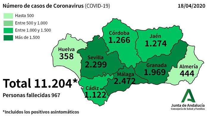 Dos fallecidos más por coronavirus en el Campo de Gibraltar