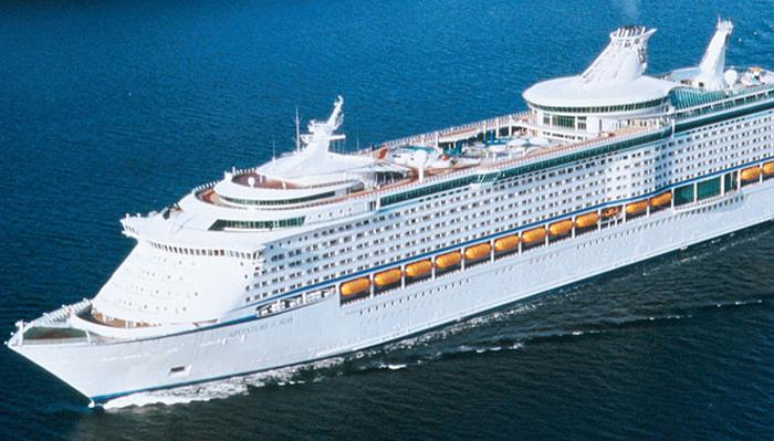 El buque viaja sin pasajeros