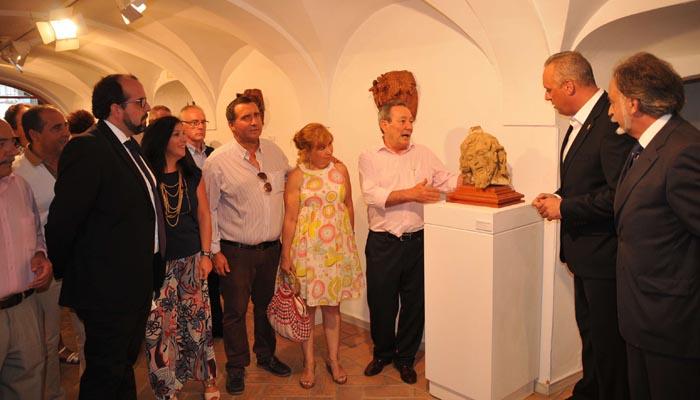 Imagen de archivo de una exposición en la Galería Ortega Brú